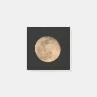 Full Moon Post it Notes