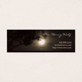 Full moon profile card