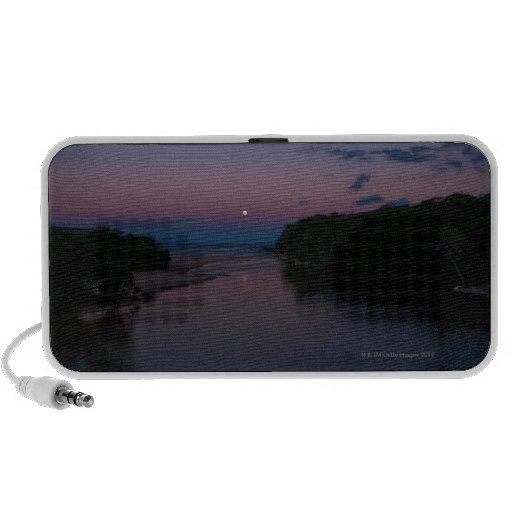 Full Moon rising over  Wattamolla Beach in the iPod Speakers