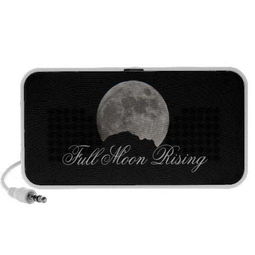 FULL MOON RISING iPod SPEAKERS