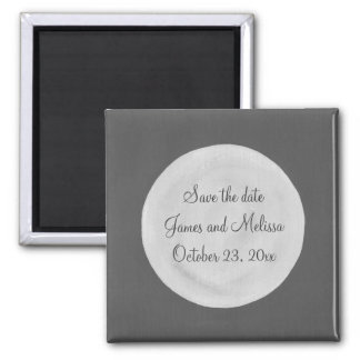 Full Moon Save the date Wedding Magnets