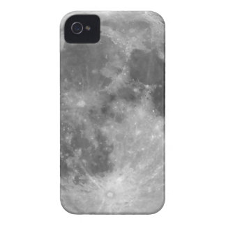 Full moon seen with telescope iPhone 4 Case-Mate cases