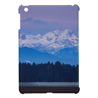 Full Moon setting over the Julian Alps Cover For The iPad Mini
