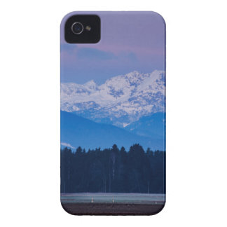 Full Moon setting over the Julian Alps iPhone 4 Covers