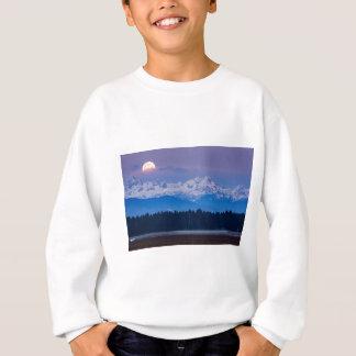 Full Moon setting over the Julian Alps Sweatshirt