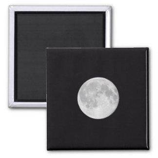 Full Moon Square Magnet