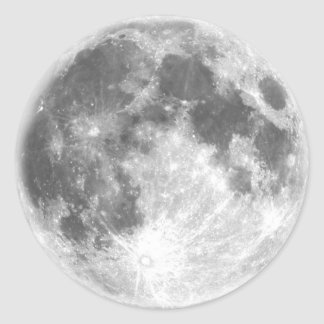 Full Moon Sticker Sheet