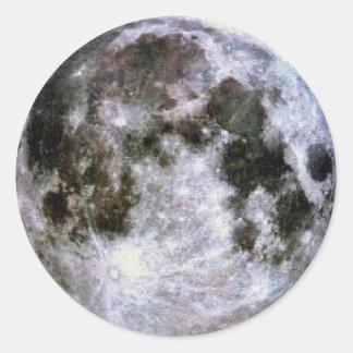 Full Moon Stickers