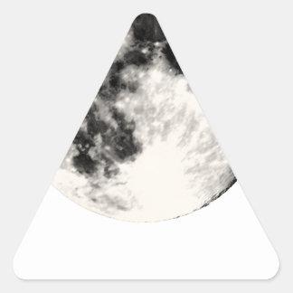 Full Moon Triangle Sticker