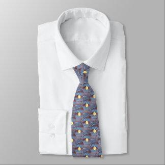 Full Moon Watercolor Tie