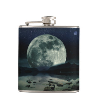 Full Moons Hip Flask