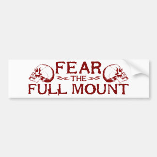 Full Mount Bumper Sticker