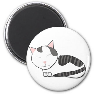Full Mouseski 6 Cm Round Magnet