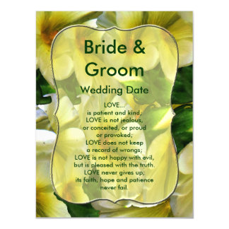 Full of Happiness Wedding Love Magnetic Invitations