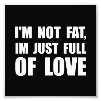 Full Of Love Photo Print