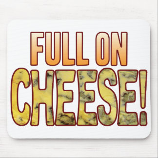 Full On Blue Cheese Mouse Pad