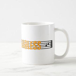 Full On Fearless Basic White Mug