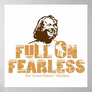 Full On Fearless-Pat Milliken Poster