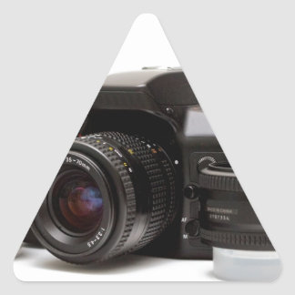 full photography set triangle sticker