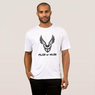 Full PoM logo black/grey performance sport-tek T-Shirt