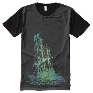 FULL PRINT PIRATE SHIP SHIRT All-Over PRINT T-Shirt