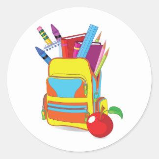 Full School Bag Stickers