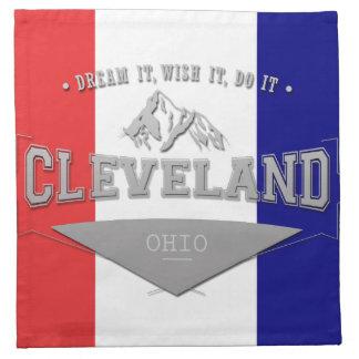 Full Screen Cleveland Ohio Dream Napkin