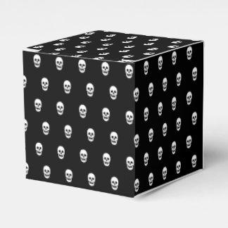 Full Skull Pattern Wedding Favour Boxes