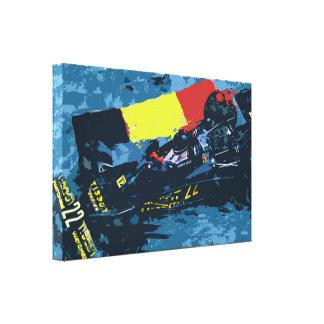FULL SPEED II - digital kind - Jean Louis Glineur Canvas Print