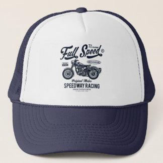Full Speed Speedway Racing Trucker Hat