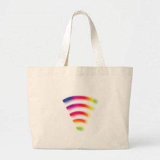 Full Strength WIFI Large Tote Bag