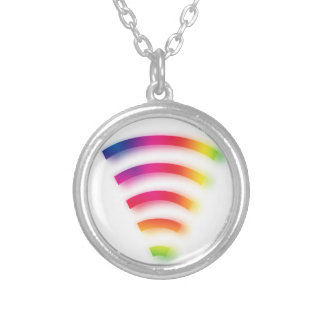 Full Strength WIFI Silver Plated Necklace