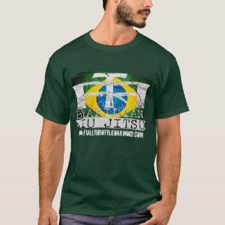 Full Throttle Fitness Brazilian Jiu Jitsu Stamp T T-Shirt