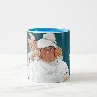 Full Treatment Two-Tone Coffee Mug