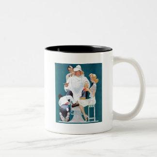 Full Treatment Two-Tone Mug