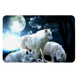 Full Wolf Moon Magnet