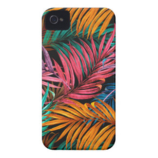 Fullcolor Palm Leaves Case-Mate iPhone 4 Cases