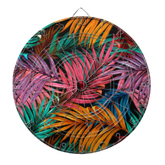 Fullcolor Palm Leaves Dartboard