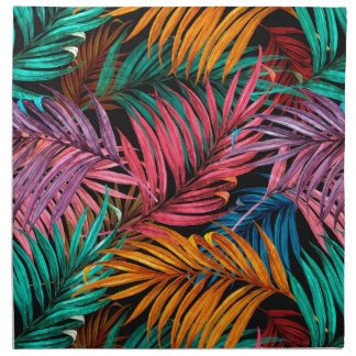Fullcolor Palm Leaves Napkin