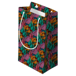 Fullcolor Palm Leaves Small Gift Bag