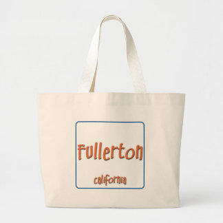 Fullerton California BlueBox Canvas Bag