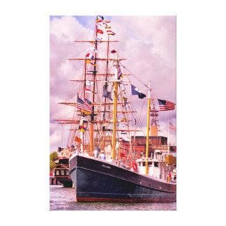 Fully Flagged Canvas Print