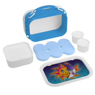 FULLY PERSONALIZABLE SUN & MOON LUNCH BOX