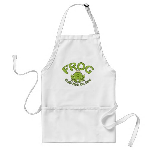 Fully Rely On God Apron