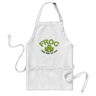Fully Rely On God Standard Apron