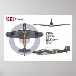 Fulmar 803 Squadron Poster