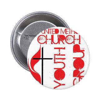 FUMC Youth 6 Cm Round Badge