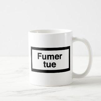 Fumer tue coffee mug