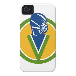 Fumigation Pest Control Service Icon iPhone 4 Case-Mate Case