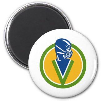 Fumigation Pest Control Service Icon Magnet